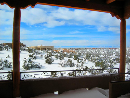 Santa Fe Winter Wonderland from Our Portal